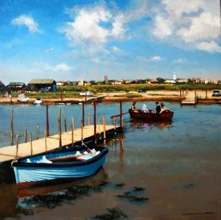 Splash out and take the rowing boat ferry from Southwold harbour, across the water to Walberswick