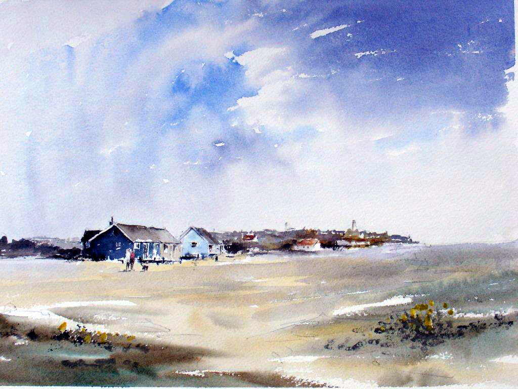 Cottages and beach 2011 Lenny Townsend