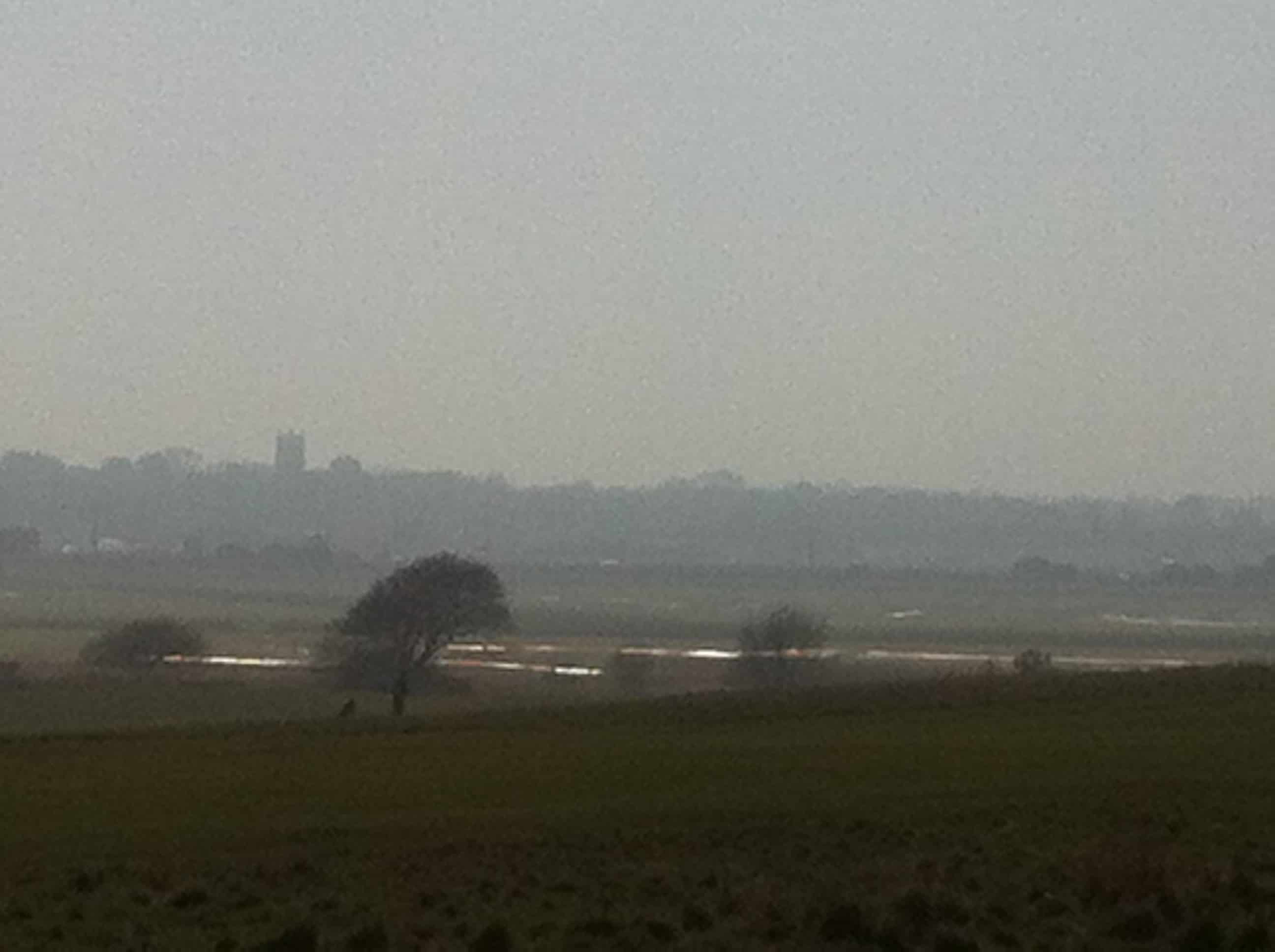 Marshes to walberswick from the Common March 2013 b