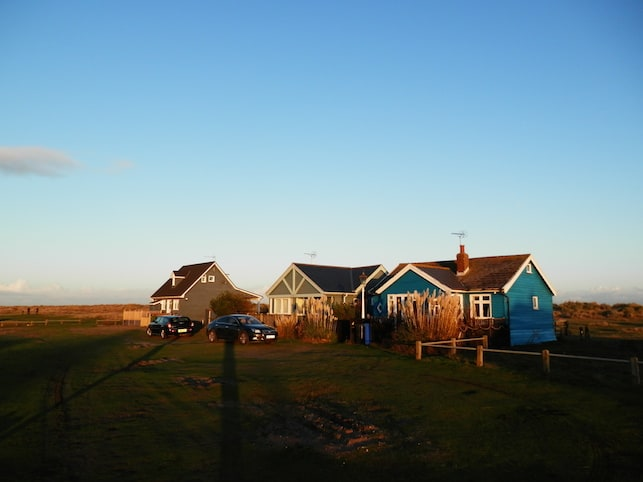 Afternoon light in November over Mandalay, Southwold